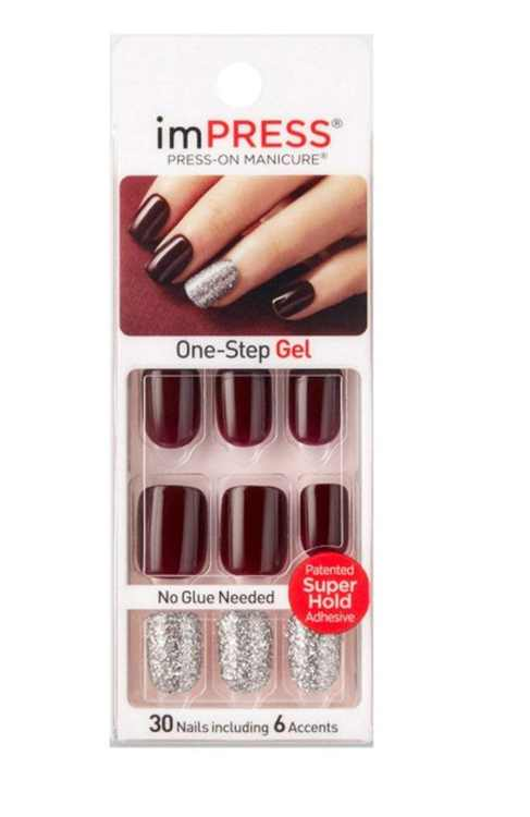 Kiss imPRESS Press-On Manicure One-Step Gel - Casting Call, With superior shine that lasts up to a week, this flexible nail cover delivers a indestructible top.., By Kiss Products Inc