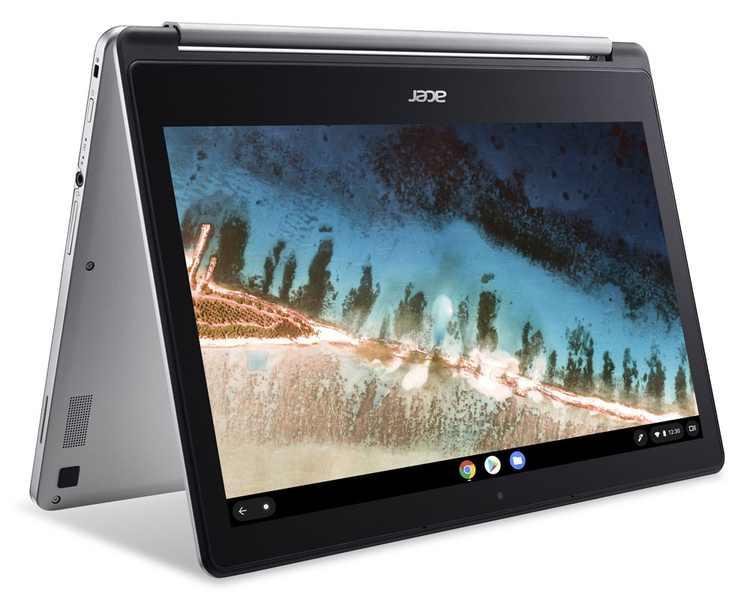 "Acer R13 Mediatek 2-in-1 Touch 4GB/64GB Chromebook, 13.3"" FHD Touch Display, MediaTek MT8173C Quad-Core Processor, 4GB LPDDR3, 64GB eMMC, Chrome OS - CB5-312T-K95W"