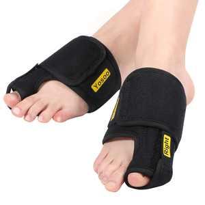Tbest Bunion Correctors, 1 Pair Adjustable Soft Bunion Splints Brace Big Toe Straighteners Separators,Bunion Correctors