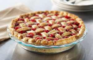 """Pyrex Easy Grab Pie Pan, Glass, 9.5"""""""