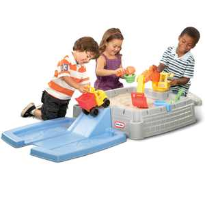 Little Tikes Big Digger Sandbox with Lid, Outdoor Play Equipment