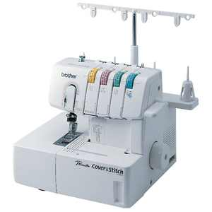 Brother 2340CV, Cover Stitch Machine with Color-Coded Threading Guide