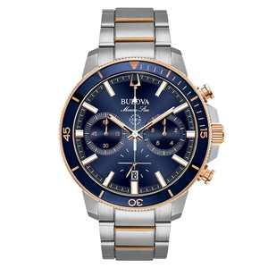Bulova Men's Marine Star Chronograph Watch 45mm
