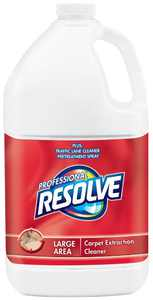 Resolve Professional Carpet Extraction Cleaner, 1 gal Bottle
