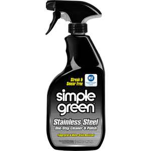 Simple Green, SMP18300, Stainless Steel Cleaner / Polish, 1 Each, Milky White