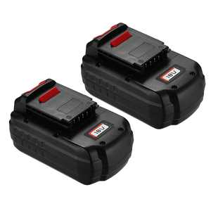 Powerextra 18-Volt 3000MAH Replacement Battery For Porter Cable PCC18B-2 Cordless Power Tools, 2-Pack