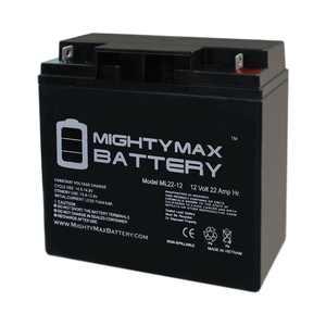 """""""12V 22AH SLA Battery for Diehard Platinum 1150 Jump Start"""""""