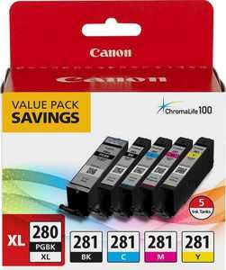Canon PGI-280 XL / CLI-281 5 Color Pack