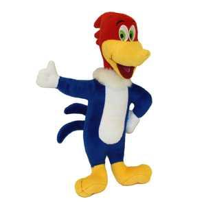 Multipet Woody Woodpecker Plush Talking Dog Toy