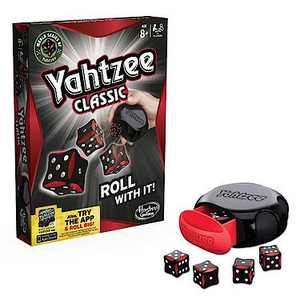 Yahtzee Classic Dice Game, Score points for a full house, straight, 3 of a kind or 4 of a kind
