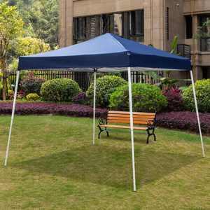 UBesGoo  10' x 10' Portable  Canopy Pop up Tent Garden Instant Tent Carry Bag, Blue