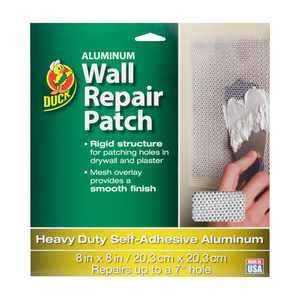 Duck Brand 8 In. x 8 In. Aluminum Wall Repair Patch