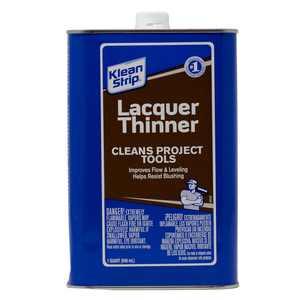 Klean-Strip Lacquer Thinner, 1 Quart