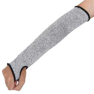 WALFRONT Cut Resistant Protective Arm Sleeve Wrist Guard Glove for Clambing Hunting, Cut Resistant Sleeves with Thumb Hole, Level 5 Protection, Slash Resistant Safety Protective Arm Sleeves