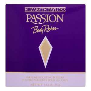 Elizabeth Taylor Passion Body Riches Dusting Powder, 2.6 Oz