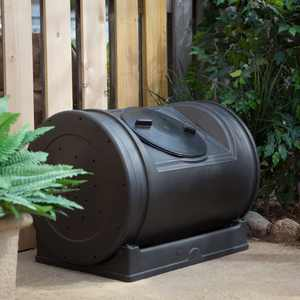 Good Ideas 52 Gal. Compost Wizard Jr. - Black