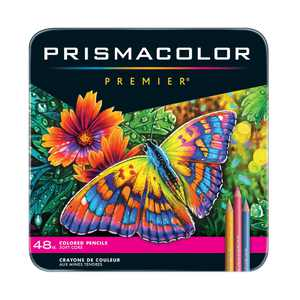 Prismacolor Premier Thick Core Colored Pencil Set, 48-Colors