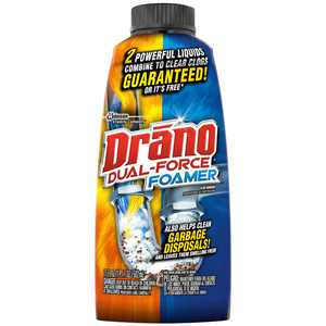 Drano Dual-Force Foamer Clog Remover, 17 oz