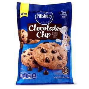 Pillsbury Chocolate Chip Cookie Mix, 17.5 oz