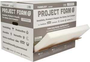 """Fairfield Project Foam Multi-Purpose Foam, 24"""" x 72"""" x 2"""", 1 Each"""