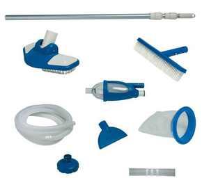 "Intex Deluxe Pool Maintenance Kit & Hydrotools 7"" Chlorine Dispenser for Tablets"
