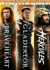Ultimate Warrior Collection: Braveheart / Gladiator / Hercules: Triple Pack (DVD)