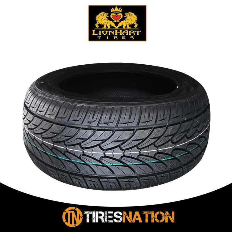 (1) New Lionhart LH-TEN 325/35/28 120V Performance All-Season Tire