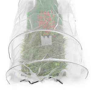 Plant Covers Garden Tunnel Cloche with Loops Reusable Floating Row Cover Protection Plant Blankets
