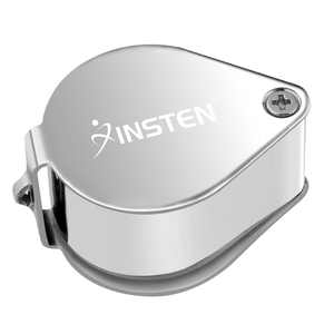 Insten 30X 21mm Magnifying Magnifier Glass Foldable Jeweler Eye Jewelry Loupe Loop for Jeweler (with Box)