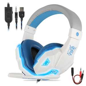 Gaming Headset with 7.1 Surround Sound, EEEkit Stereo Surround Sound Gaming Headphones with Noise Cancelling Mic, Wired Over Ear Headset fits for Xbox One, PS4, PS5, PC, Laptop, Nintendo Switch