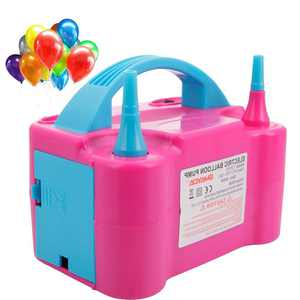 Zimtown Portable Electric Balloon Air Inflator Blower Pump Machine,Use For Both Latex and Decorative Balloons, High Power Dual Inflation Nozzle,Great for Parties,Celebrations and Special Occasions