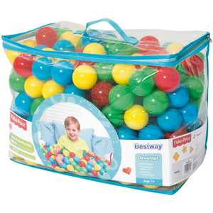 """Fisher Price 2.2"""" Kid's Multi-Colored Play Balls, 250 Count"""