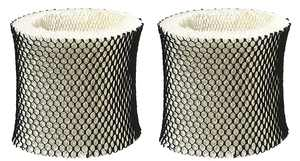 2 Packs Holmes Type A Filter HWF62 Compatible Humidifier Wick Filter Replacement Fits HM1281, HM1701, HM1761, HM1297 and HM2409
