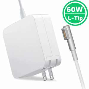 MacPro Charger / Replacement 60w MagSafe Power Adapter L Tip for MacPro 13-inch - Mid 2012 Models Before