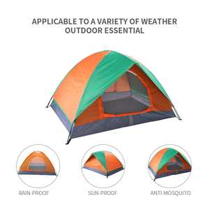 UBesGoo Waterproof 2 Persons Camping Tent Automatic Pop Up Tent Shelter Outdoor Hiking