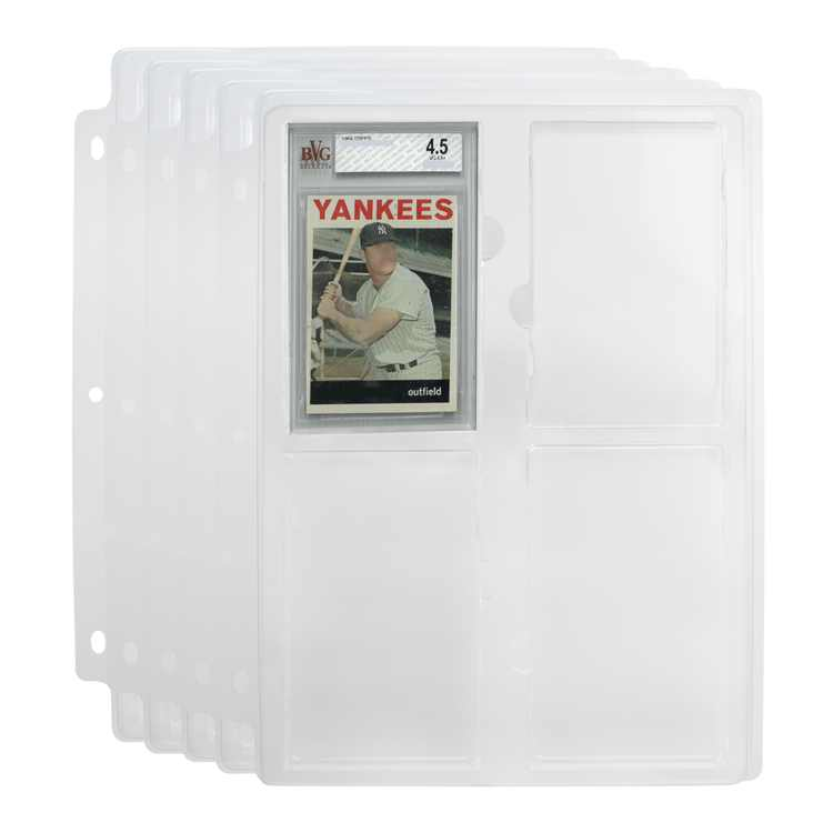 Simply Genius (5 Pack) Beckett Graded Collectors Trading Card Storage Tray