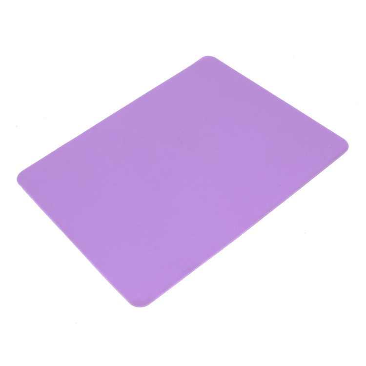 Unique Bargains Purple Non-slip Soft Silicone Mice Pad Mat Mousepad for Laptop Computer