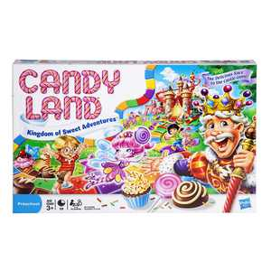 Candy Land The World of Sweets Game (Walmart Exclusive), Classic beginner game By Hasbro