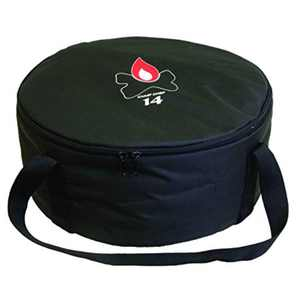 """Camp Chef 12"""" Padded Dutch Oven Carry Bag with Tie-Down Straps, CBDO12"""