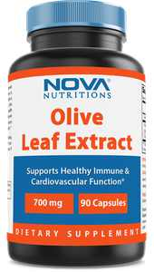 Nova Nutritions Olive Leaf Extract 700 mg 90 Capsules