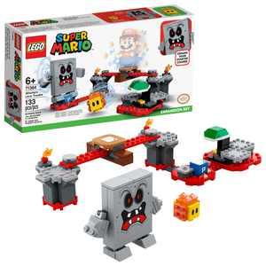LEGO Super Mario Whomps Lava Trouble Expansion Set 71364 Creative Building Toy for Kids (133 Pieces)