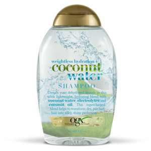 OGX Weightless Hydration + Coconut Water Shampoo, 13 Fl OZ