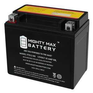 YTX12-BS 12V 10AH Battery for Honda 250 TRX250 FourTrax Recon 97-17
