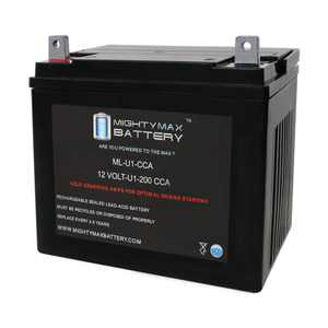 """Mighty Max ML-U1 12V 200CCA Battery for Troy-Bilt 18 HP Lawn Tractor and Mower"""