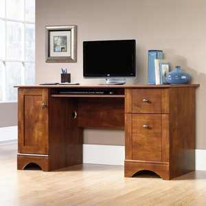 Kingfisher Lane Computer Desk in Brushed Maple