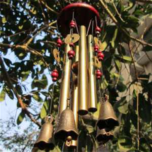 Large Wind Chime Tubes Bells Metal Church Bell Outdoor Garden Home Decor