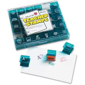 Learning Resources Jumbo Teacher Stamps Set, 30 / Each (Quantity)