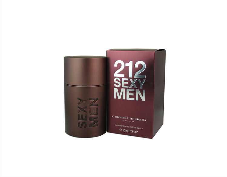Carolina Herrera 212 Sexy Men Eau De Toilette Spray, Cologne for Men, 1.7 Oz