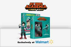 My Hero Academia: Heroes Rising (Walmart Exclusive) (Blu-ray + DVD + Digital)