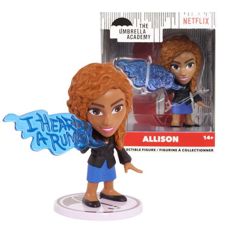 The Umbrella Academy 3 Stylized Collectible Figure- Allison, Ages 1+
